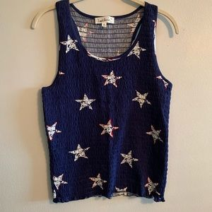 Cloud Chaser Smocked Tank Top
